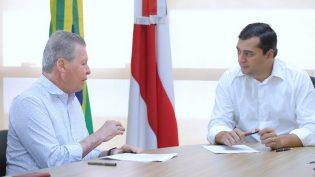 Arthur cobra de Wilson Lima ICMS que Braga tirou de Manaus e deu a Coari