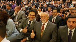 Belarmino Lins e Alvaro Campelo
