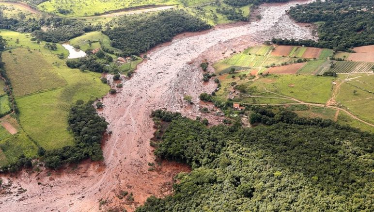 Lama destruiu cidade e afetou o meio ambiente em Brumadinho: peça para troca de acusações políticas (Foto: Isac Nóbrega/Agência Câmara)