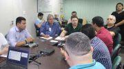 Vice-governador e secretário de Saúde Carlos Almeida Filho conheceu projetos na Prodam (Foto: Isabela Xavier de Castro Catarino/Prodam)