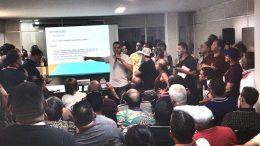 Resultado preliminar das bandas e blocos contemplados com apoio público foi apresentado na Manansucult (Foto: David Batista/Manauscult)