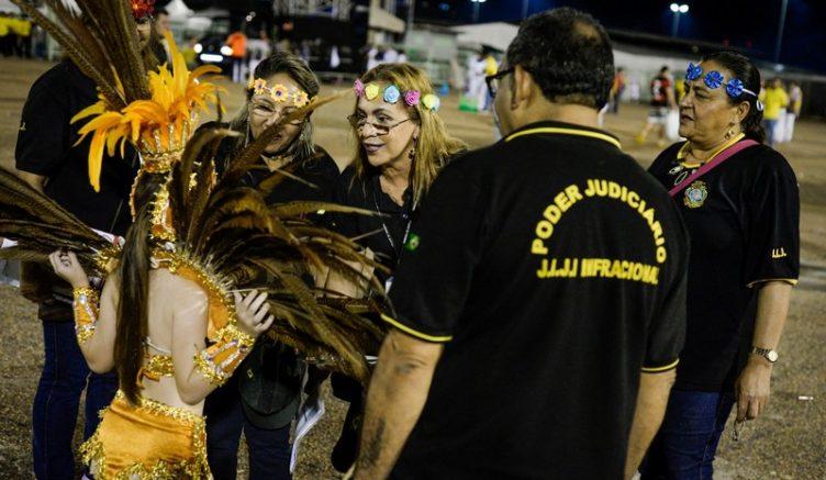 Agentes judiciários fiscalizarão acesso de crianças em bailes de carnaval (Foto: TJAM/Divulgação)
