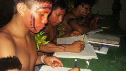 Escolas indígenas no Amazonas terão assessoria de formadores de educação para implantar metodologias de ensino (Foto: Seduc/Divulgação)