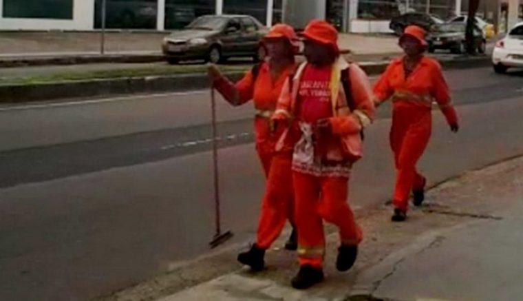Falsos garis estavam pedindo dinheiro na Avenida Darcy Vargas, segundo a Semulsp (Foto: Divulgação)