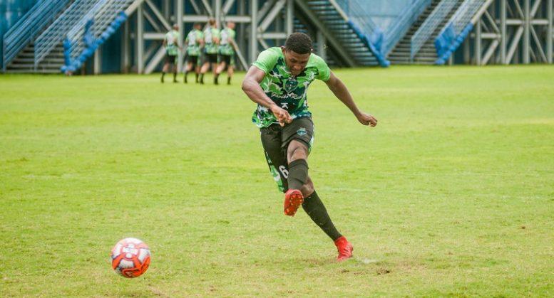 Manaus FC aprimora pontaria para estreia no Campeonato Amazonense (Foto: Manaus FC/Divulgação)