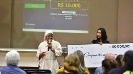 Entidades filantrópicas também são contempladas com prêmio da Nota Fiscal Amazonense (Foto: Bruno Zanardo/Secom)