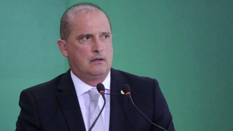Ministro Onyx Lorenzoni pediu pacto à oposição no Congresso Nacional (Foto: Fátima Meira/Futura Press/Folhapress)