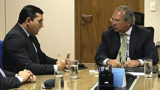 Paulo Guedes diz a Wilson Lima que ele terá apoio para novas matrizes econômicas