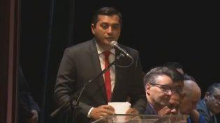 Wilson Lima assume governo prometendo reformas e corrigir  descomprometimento
