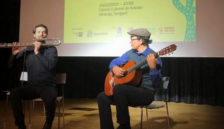 Duo de João Omar e João Liberato no festival (Foto: Patrícia Borges/Divulgação)