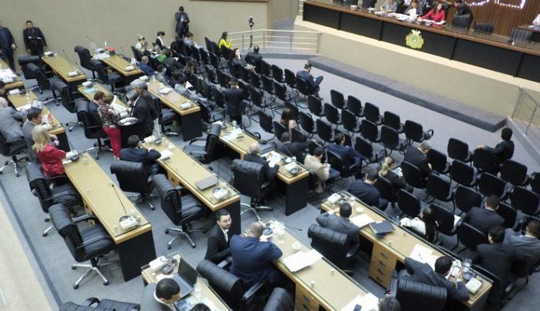 Plenário da ALE: propostas de CPI, mas sem investigação (Foto: Danilo Mello/ALE-AM)