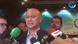 Alfredo Menezes diz que é preciso resgatar importância da Suframa (Foto: Facebook/Reprodução)