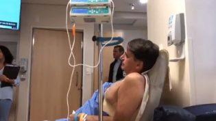 Sem febre, Jair Bolsonaro já se alimenta com caldo de carne