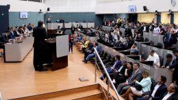 Vereadores assumiram mandato na sexta-feira, 1º (Foto: Robervaldo Rocha/Dircom CMM)