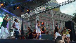 Bandas agitam Centro de Manaus neste sábado (Foto: Ingrid Anne/Manauscult)