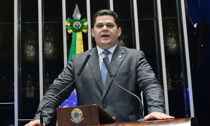 Davi Alcolumbre prometeu levar debate sobre CPI ao plenário (Foto: Geraldo Magela/Agência Senado)