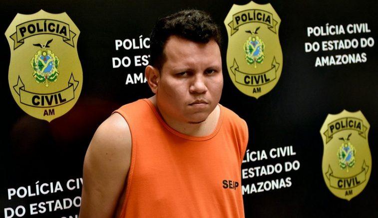 Diogo de Castro Moraes já estava preso por porte ilegal de arma de fogo (Foto: Alailson Santos/PC-AM)