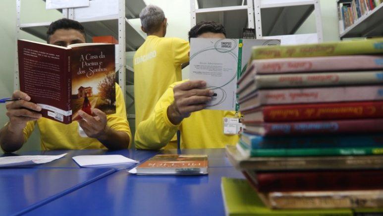 Projeto aceita apenas obras literárias, sem apologia ao crime (Foto: Seap-/Divulgação)