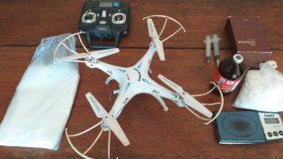 Tráfico em município do Amazonas usava drone para entregar droga