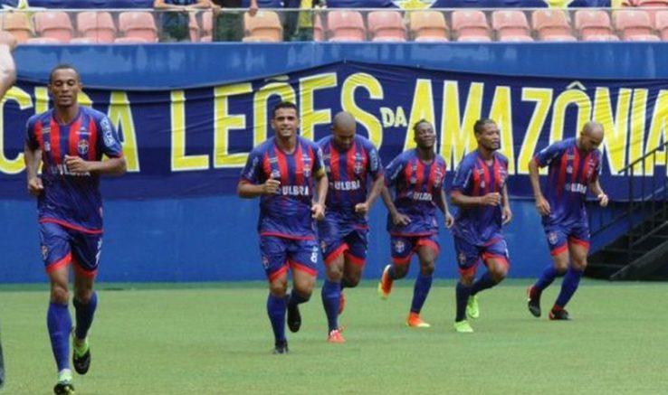 Jogadores do Fast comemoram gol (Foto: Antonio Silva/FAF)