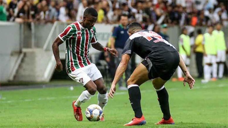 Vasco superou o Fluminense em clássico carioca (Foto: Lucas Merçon/FFC)