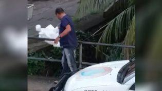 SSP diz que punirá servidor que descartou roupa contra contaminação em igarapé