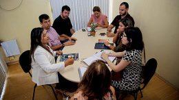 Joana Darc e representantes da Abrasel