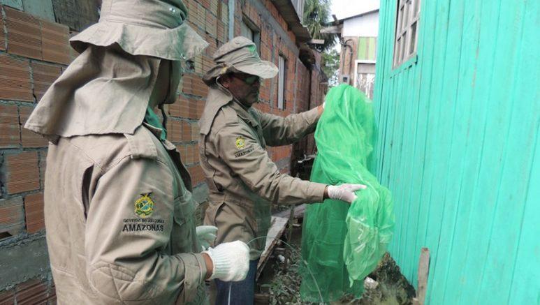 Mosquiteiros impregnados com inseticida são decisivos na redução da malária (Foto: FVS/Divulgação)