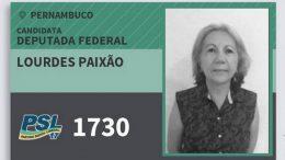 Identificação de Maria de Lourdes no TSE como candidata (Foto: Reprodução)
