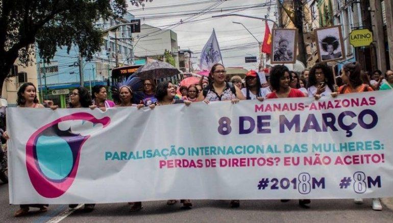 Manifestação pretende chamar atenção sobre o feminicídio (Foto: Divulgação)
