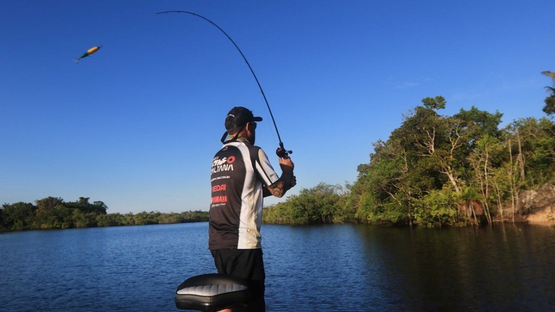 Pesca esportiva também será limitada no Estado (Foto: Ricardo Oliveira/Secom