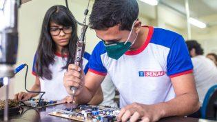 Cursos profissionais do Senai no Amazonas têm 2,5 mil vagas disponíveis