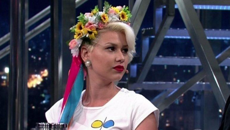 Sara Winter se converteu ao conservadorismo (Foto: TV Globo/Reprodução)