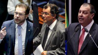 Plínio e Omar revelaram voto em Alcolumbre; Braga votou secretamente
