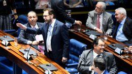 Senadores do Amazonas, Omar Aziz, Plinio Valerio e Eduardo Braga