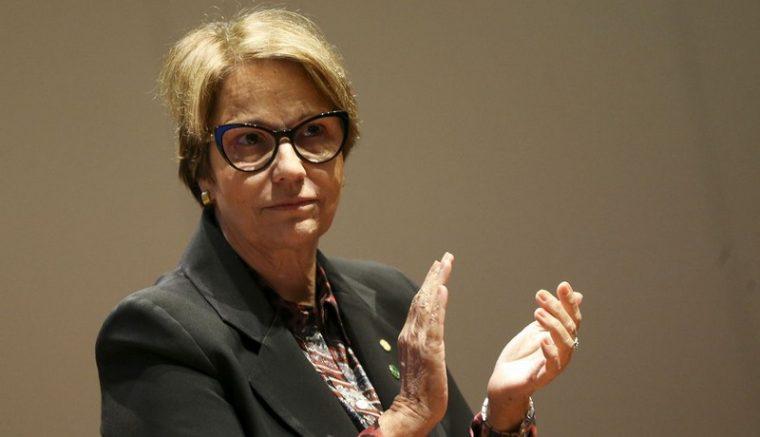 Ministra da Agricultura Tereza Cristina quer controle sanitário autônomo (Foto: Marcelo Camargo/ABr)