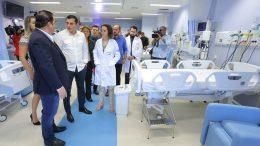 Wilson Lima entrega leitos de UTI em hospital (Foto: Diego Peres/Secom)