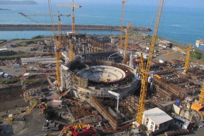 Construção de Angra 3 envolveu propina a Michel Temer (Foto: Eletronuclear/Divulgação)
