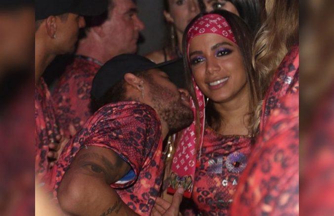 Neymar em jogada ofensiva contra Anitta (Foto: Instagram/Reprodução)