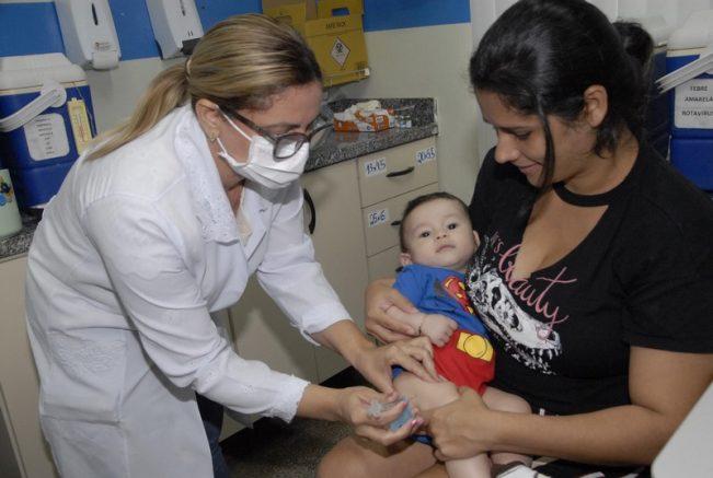 Crianças estão no grupo prioritário para vacinação (Foto: José Nildo/Semcom)