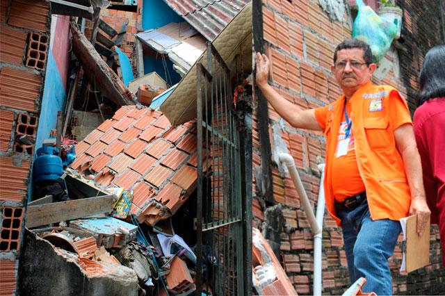 Construção sem critérios técnicos é apontada como causa do desabamento