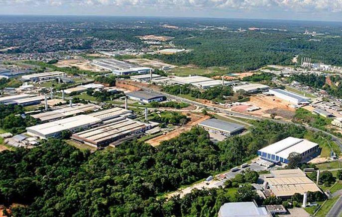 Aterro no Distrito Industrial tinha produtos tóxicos (Foto: Suframa/Divulgação)