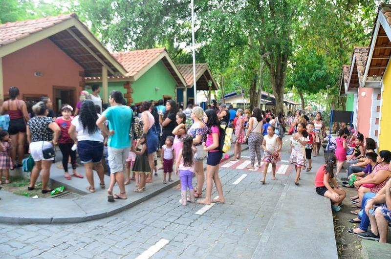 Parque da Criança, na zona centro-sul de Manaus, funciona de terça aos domingos (Foto: Semjel/Divulgação)