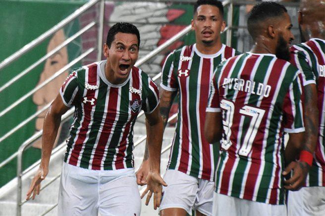 Paulo Henrique Ganso fez o gol do Flu no empate com o Botafogo (Foto: Mailson Santana/FFC)