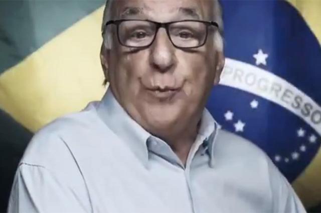 Homem fala em vídeo que golpe de 64 salvou o Brasil (Foto: Facebook/Reprodução)