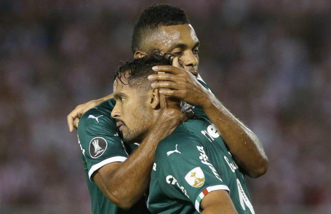 Gustavo Scarpa marcou um dos gols palmeirenses (Foto: Cesar Greco/Ag Palmeiras/Divulgação)