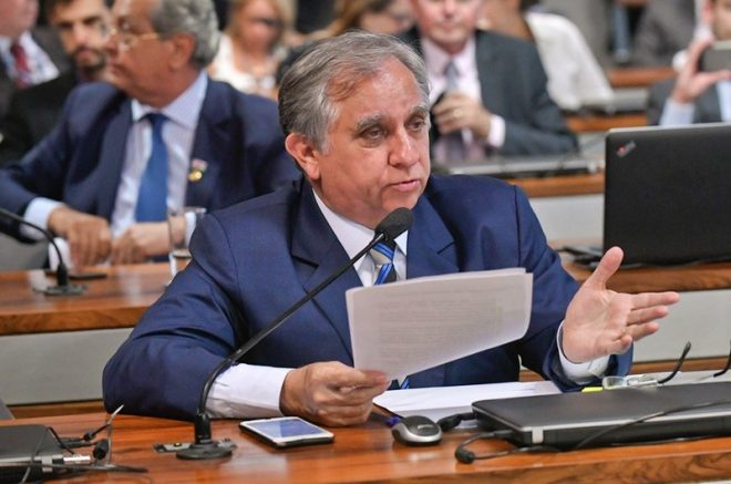 Senador Izalci Lucas promove reunião sobre a Sudam e Suframa (Foto: Geraldo Magela/Agência Senado)