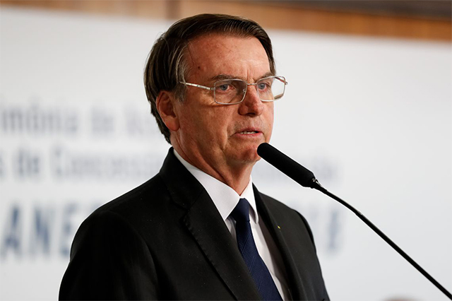 Presidente Jair Bolsonaro negociar parceria tecnológica com Israel (Foto: Alan Santos/PR)