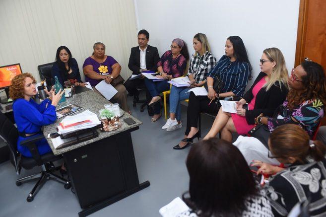 Juíza Articlina Guimarães coordena projeto do Centro (Foto: Chico Batata/TJAM)