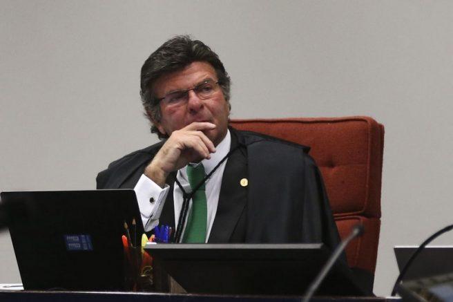 Luiz Fux disse que relação do STF com o MPF é harmoniosa (Foto: Antonio Cruz/ABr)